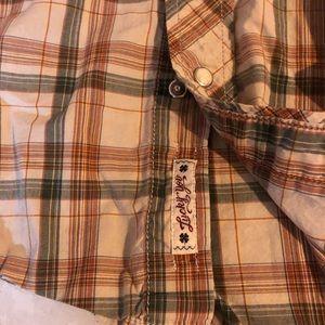 Lucky Brand Shirts - Lucky Brand Casual Snap Button Shirt